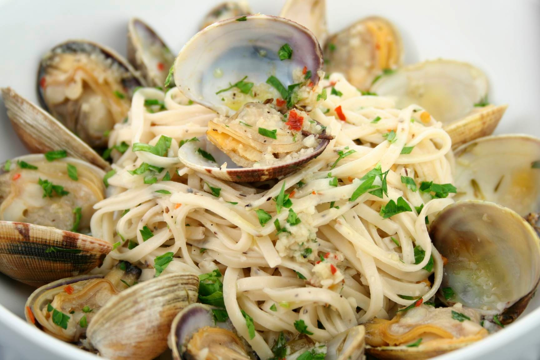 clams linguine w clam sauce oyster bar clam linguine grilled clams ...